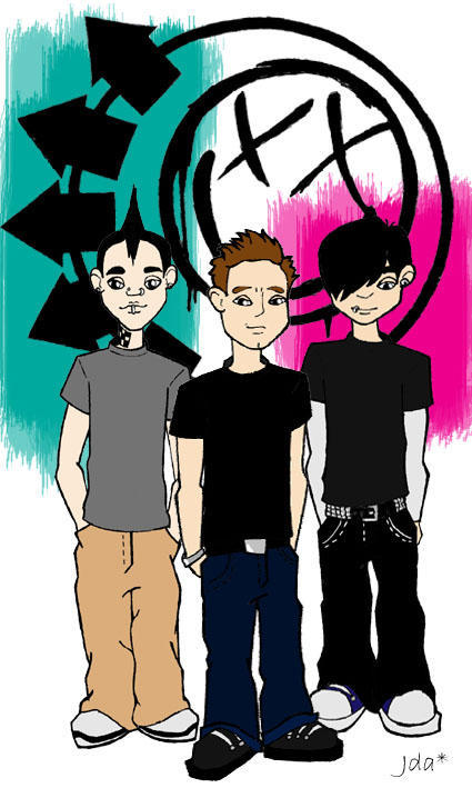 Blink 182 by JdaStar