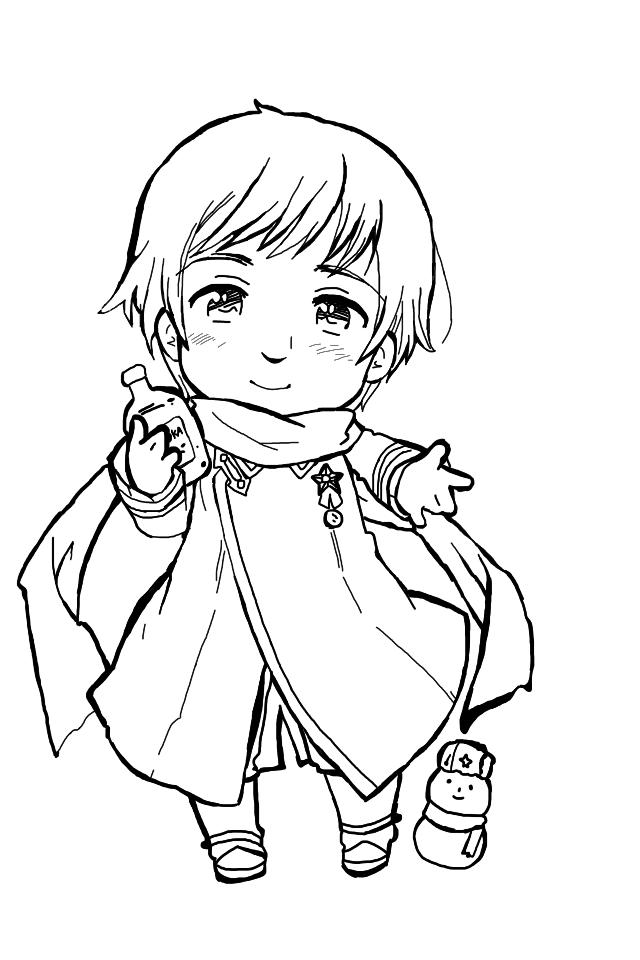 anime hetalia coloring pages - photo#39