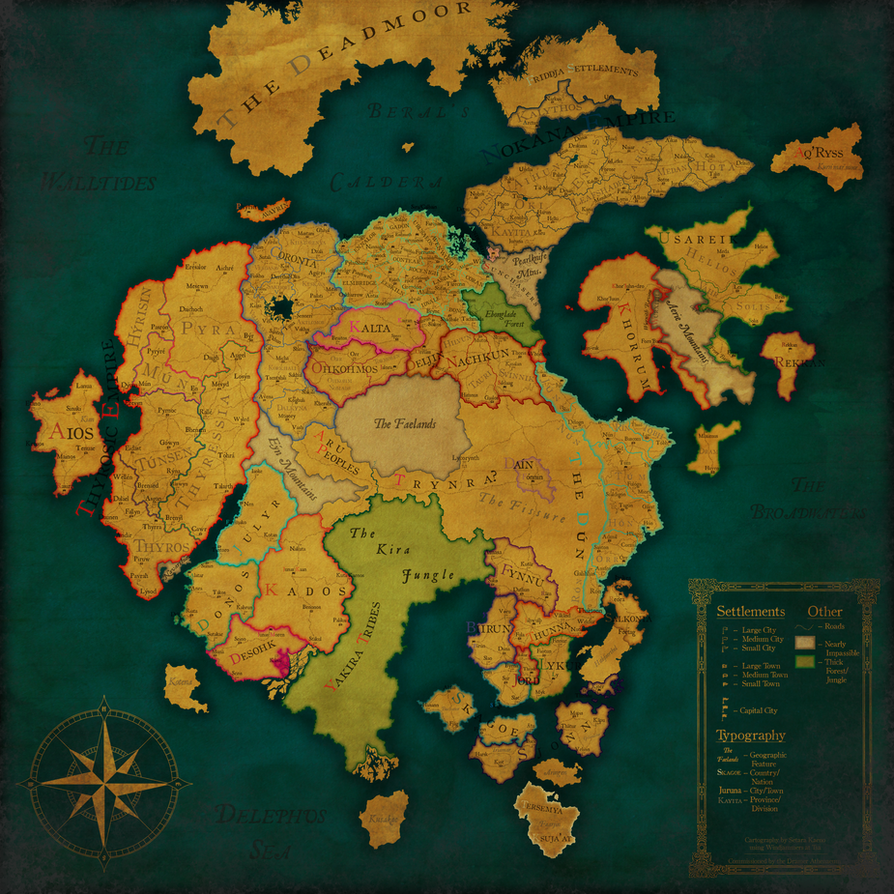 Atheryin: A Political View - Third Incarnation by Timberfleet