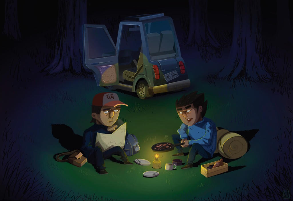 CAMPING by DUST2196