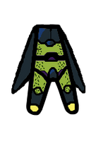 Perfect Cell Walfas Body with Wings by Ultima-the-RedWyrm