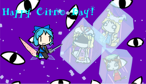 Cirno Day: 9/9/2013 by Ultima-the-RedWyrm