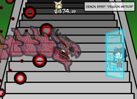 Spellcard: Demon Spirit ~Dragon Meteor~ by Ultima-the-RedWyrm