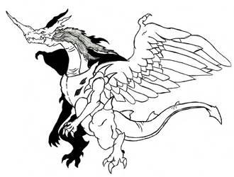 Slayers - Golden Dragon - Mirai Shythu by Ultima-the-RedWyrm