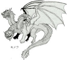 Oriental Chimera (Sketch)