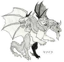 Oriental Chimera (Sketch 2)