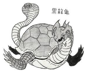 Black Dragon Turtle (Sketch)