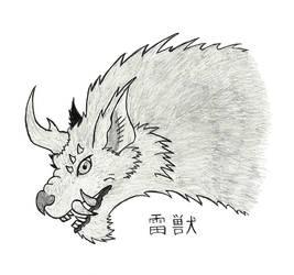 Raiju (Sketch)