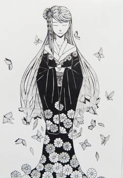 Hana no Hime- Inktober Day 17: Graceful