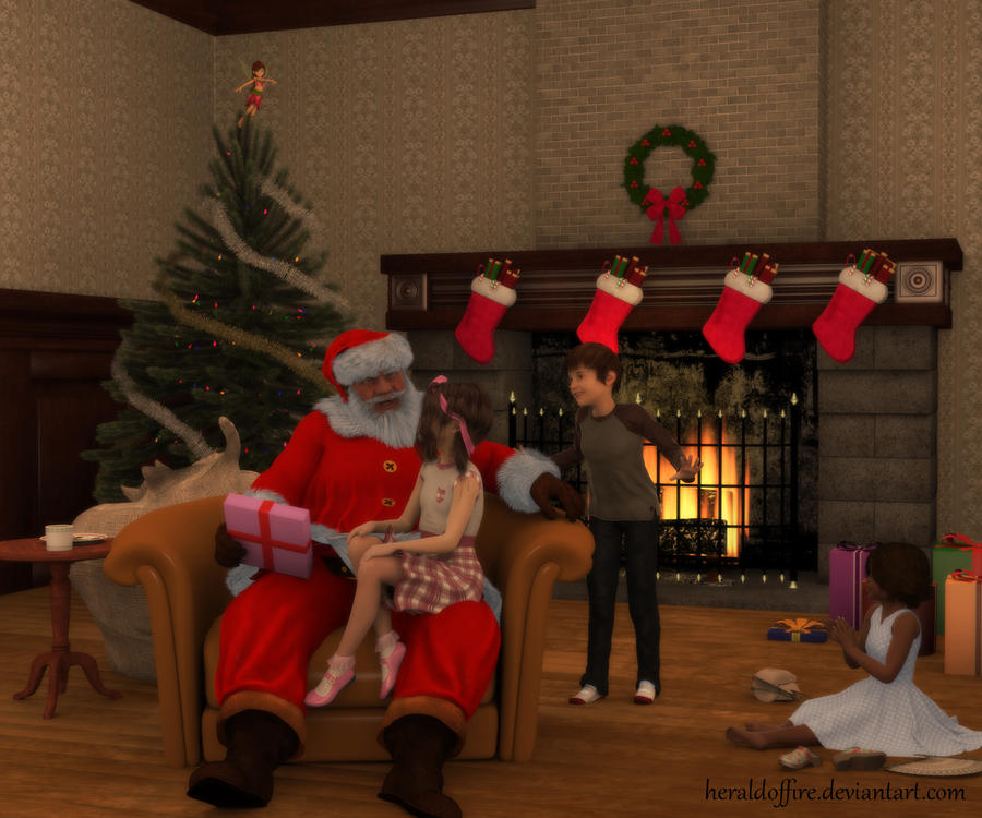 Christmas Joy by HeraldOfFire