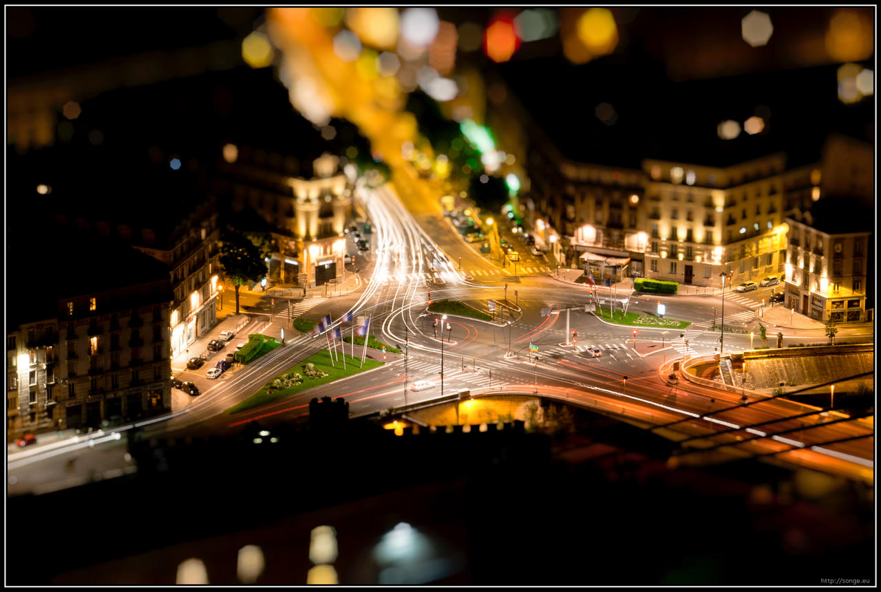 Tiny Grenoble by songe