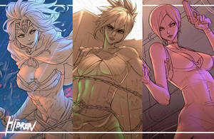 Wonder ,Riven ,Ada Sketch by Hibren