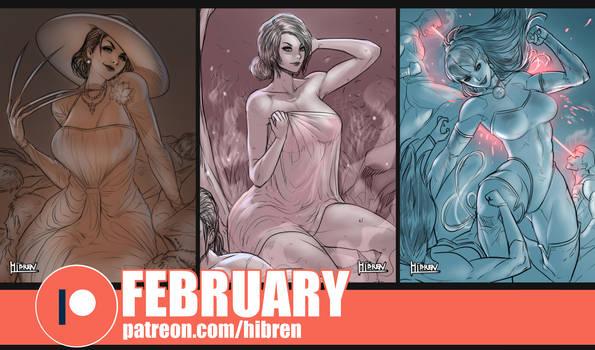 Patreon February reward