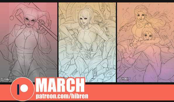 Patreon March reward