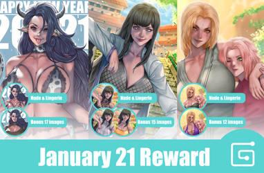 January reward Gumroad