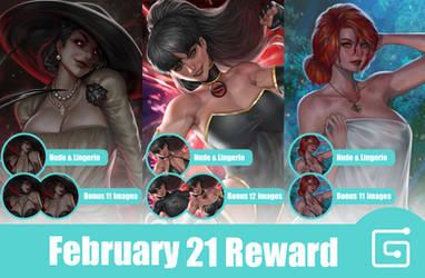 February 21 Reward