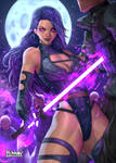 Psylocke fanart