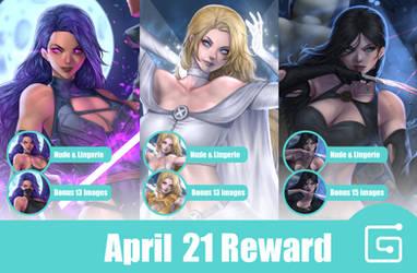 April 21 Reward
