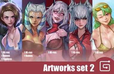 Hibren Artwork set 2