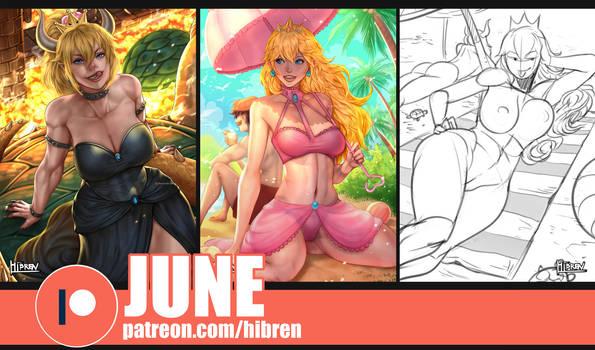 Patreon June reward