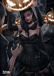 Vampire Halloween night!