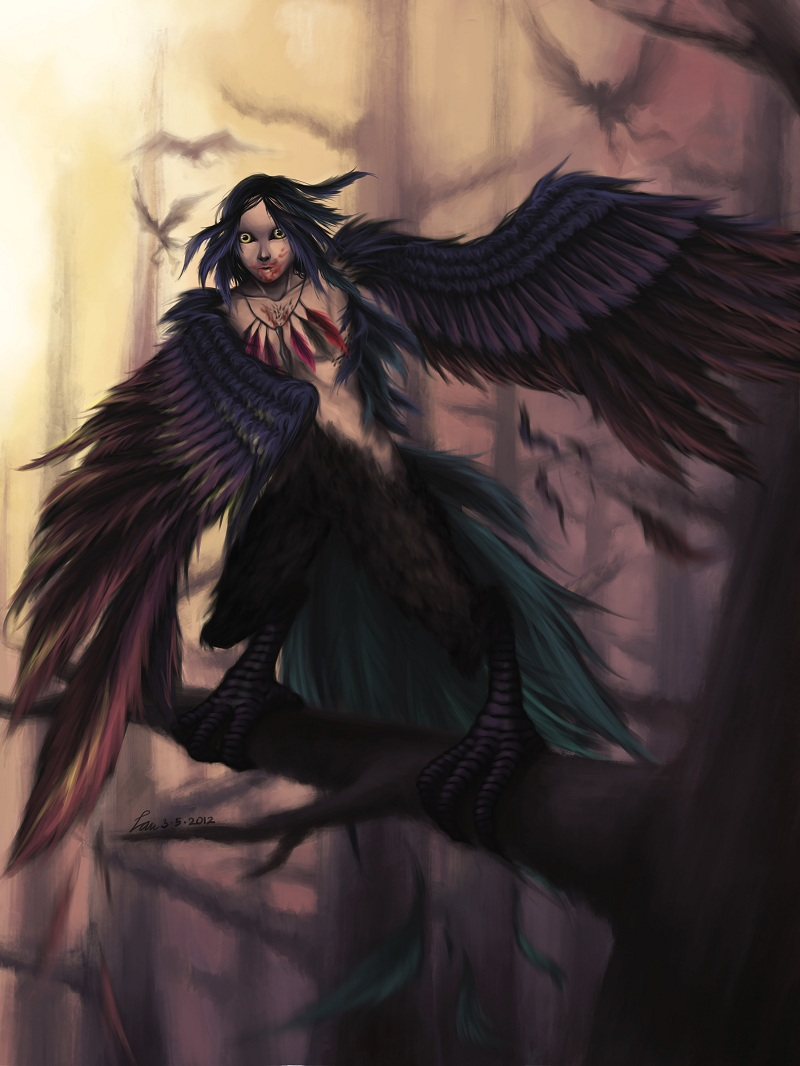 Harpy By Luminousfish On Deviantart