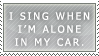 Singing in the Car by MatrissStamps