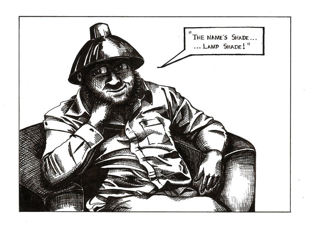 Tin Hat Man/Mr Shade by ArVaWe