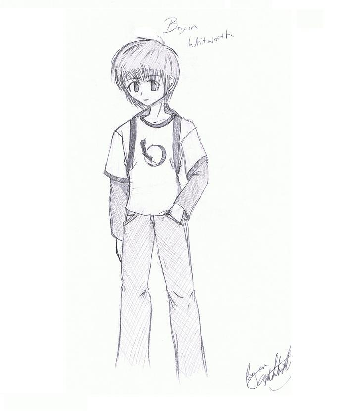 Anime drawings of people