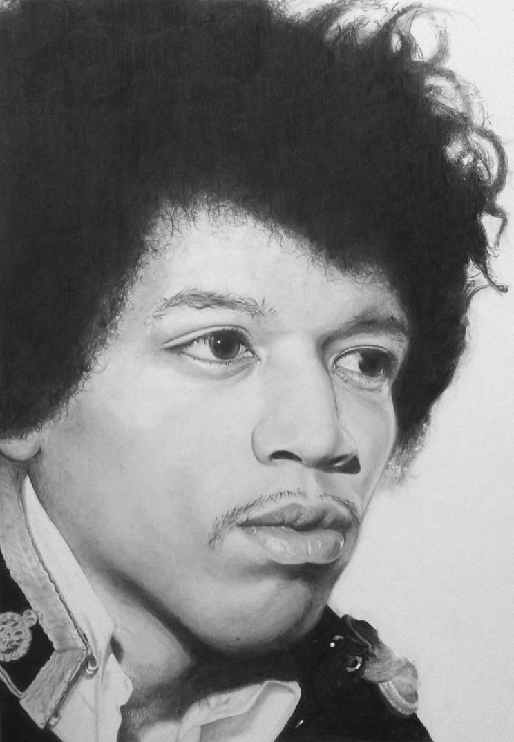 Jimi Hendrix by plimsole