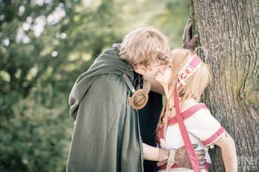 TRC - Sakura Hime and Syaoran - One Kiss... by Saleia-Marlin
