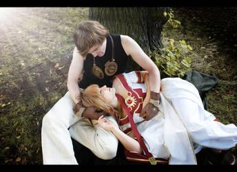 TRC - Sakura Hime and Syaoran - Fall in Love.. by Saleia-Marlin