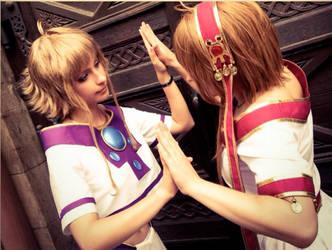 TRC - Sakura Hime and Sakura Hime - Like Sisters by Saleia-Marlin
