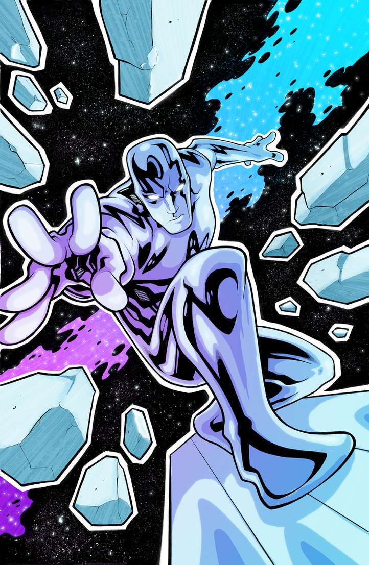 Silver Surfer by Edwin Huang by EzJedi