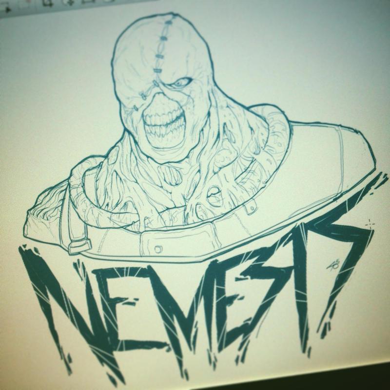 RE: Nemesis Sketch by EzJedi