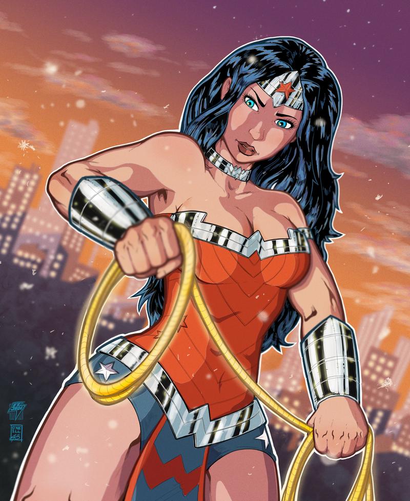 Wonder Woman by EzJedi