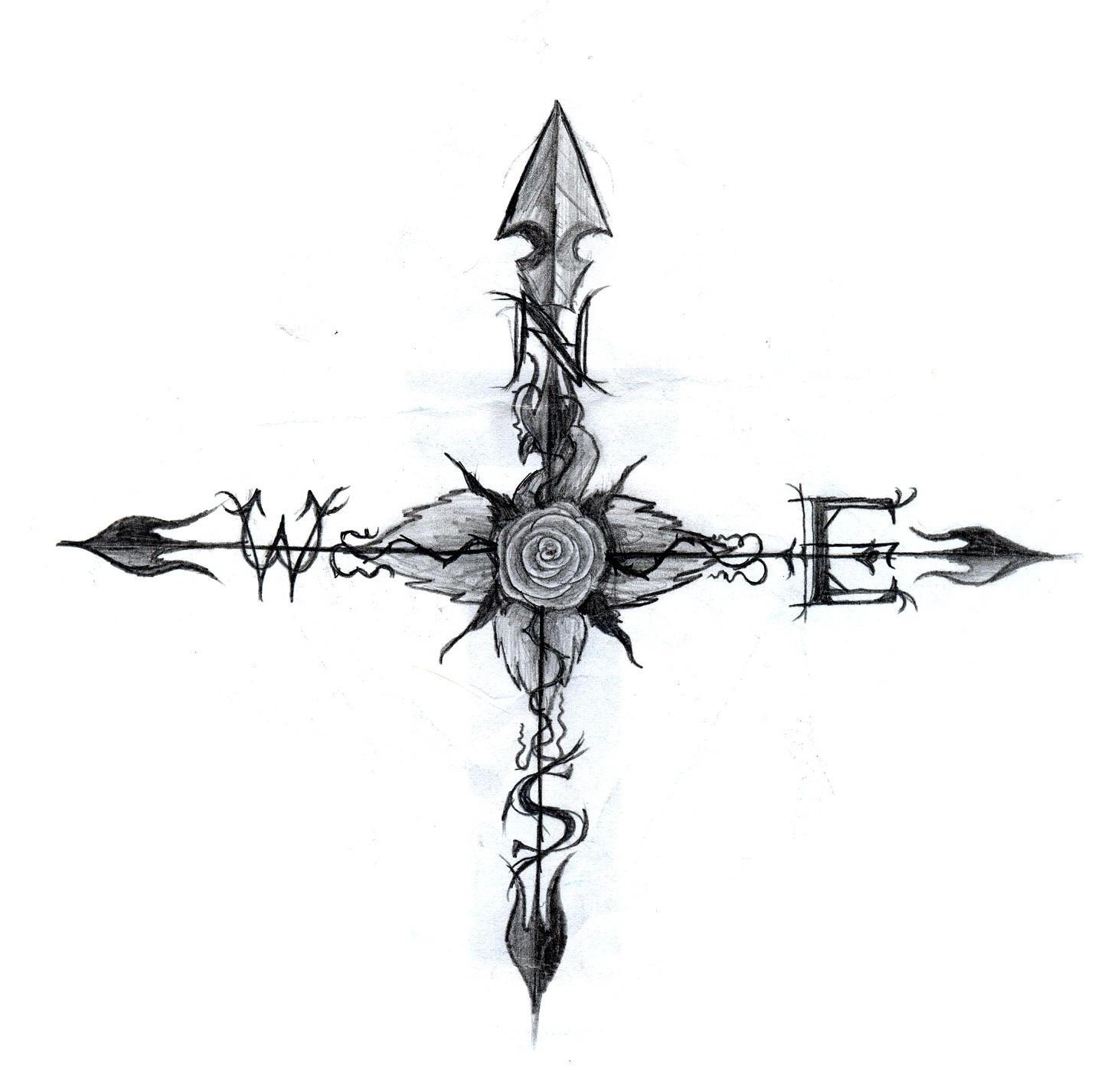 A True Compass 'Rose' By Xdyingtolivex On DeviantArt