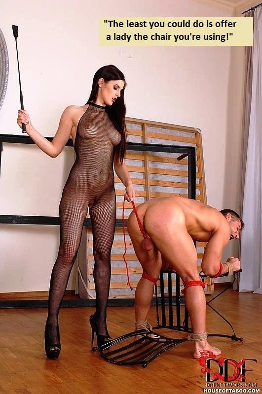 это как две госпожи порют раба стала