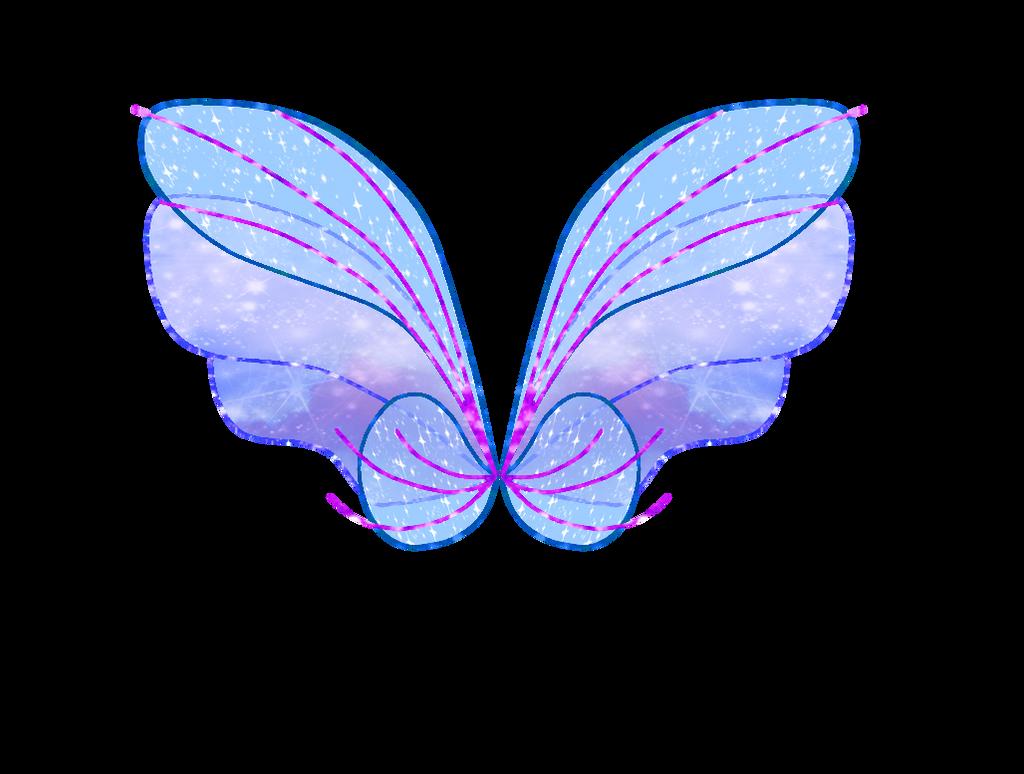 Luna's Harmonix Wings by SavageUnicornDraws