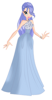 |COM|Laila Ball Gown by SavageUnicornDraws