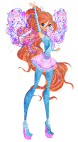 Winx Club 8 - Bloom Cosmix PNG