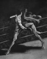 Kickboxers by akira337