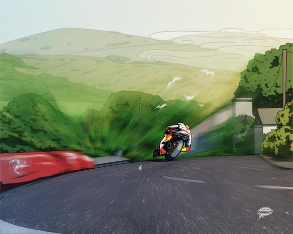 Isle of Man TT by akira337