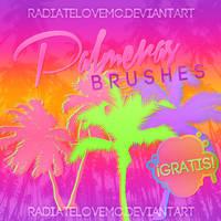 Free Palmeras Brushes by radiatelovemc