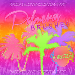 Free Palmeras Brushes by radiatelovemc