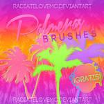 Free Palmeras Brushes