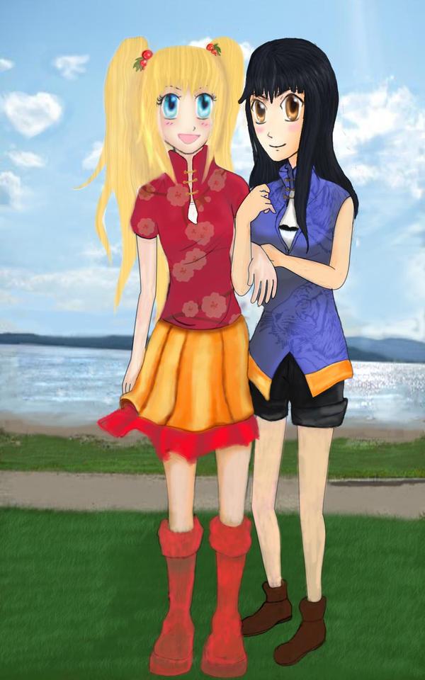 Tsuru and Maiko by Sayamaru