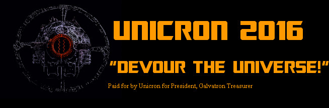 Unicron for President by GiantGeekyRobot