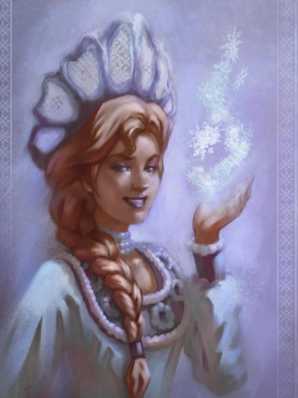 Slavic Elsa by Rocklaw