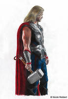 Thor (Avengers) by Quelchii